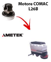 L 26B  Motore de aspiración Ametek para fregadora Comac