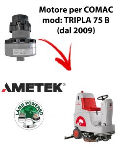 TRIPLA 75 B (dal 2009) Motore de aspiración AMETEK para fregadora Comac