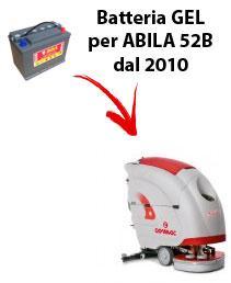 BATTERIA para ABILA 52B fregadoras COMAC DAL 2010