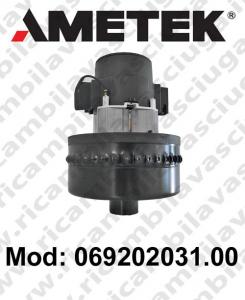 Motore de aspiración 069202031.00 AMETEK para fregadora