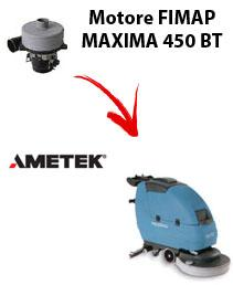 MAXIMA 450 BT  Motore de aspiración Ametek para fregadora Fimap