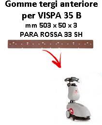 VISPA 35 B goma de secado delantera Comac