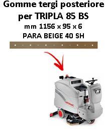 TRIPLA 85 BS goma de secado trasero Comac