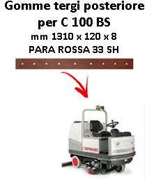 C 100 BS goma de secado trasero Comac