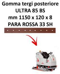 ULTRA 85 BS  gomas de secado trasera Comac