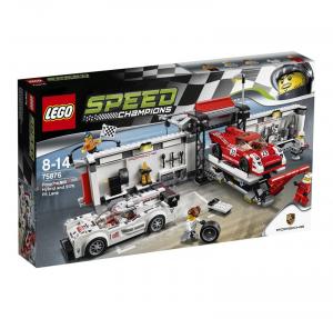 LEGO SPEED CHAMPIONS PORSCHE 919 HYBRID E 917K PIT LANE cod. 75876