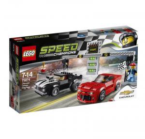 LEGO SPEED CHAMPIONS GARA DI ACCELERAZIONE CHEVROLET CAMARO cod. 75874