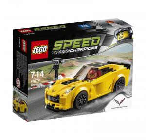LEGO SPEED CHAMPIONS CHEVROLET CORVETTE Z06 cod. 75870