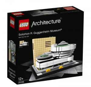 LEGO ARCHITECTURE MUSEO SOLOMON R GUGGENHEIM 21035