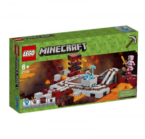 LEGO MINECRAFT LA FERROVIA DI NETHER 21130