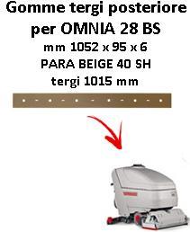 OMNIA 28 BS  goma de secado trasero Comac