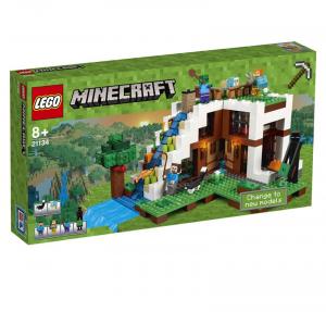 LEGO MINECRAFT LA BASE ALLA CASCATA 21134