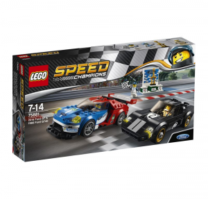 LEGO SPEED CHAMPIONS FORD GT 2016 E FORD GT40 1966 cod. 75881