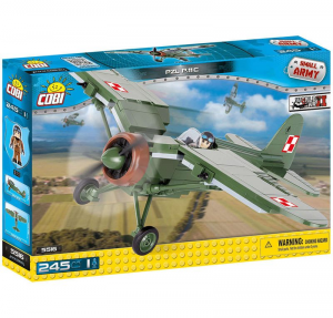 COBI AEROPLANO PZL P-11 C  245PCS 094468/5516