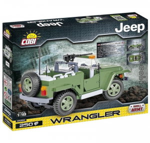 COBI JEEP WRANGLER MILITARY CREATIVE POWER 250PCS 094645/24260