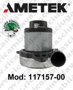 Motore de aspiración 117157-00 LAMB AMETEK para sistemas de extracción centralizados