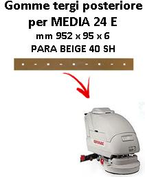 MEDIA 24 E goma de secado trasero Comac