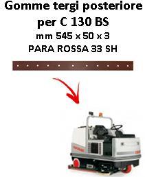 C 130 BS  goma de secado trasero Comac