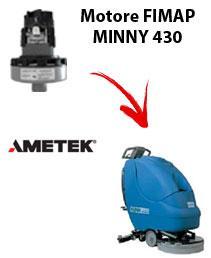 MINNY 430   Motore de aspiración Ametek para fregadora Fimap