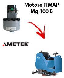 Mg 100 B   Motore de aspiración Ametek para fregadora Fimap