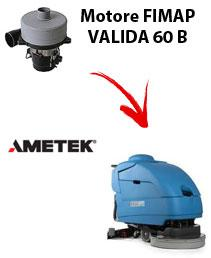 VALIDA 60 BS  Motore de aspiración Ametek para fregadora Fimap