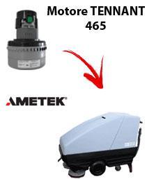 465 Motore de aspiración Ametek para fregadora TENNANT