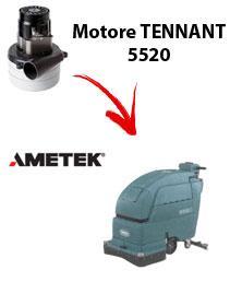 5520 Motore de aspiración Ametek para fregadora TENNANT
