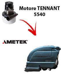 5540 Motore de aspiración Ametek para fregadora TENNANT