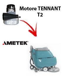 T2 Motore de aspiración Ametek para fregadora TENNANT
