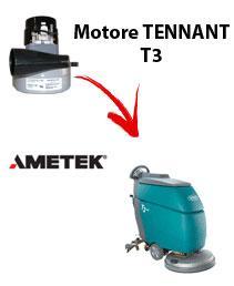T3 Motore de aspiración Ametek para fregadora TENNANT