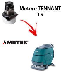 T5 Motore de aspiración Ametek para fregadora TENNANT
