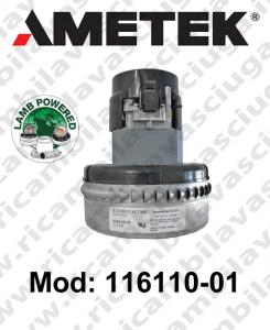 Motore de aspiración  LAMB AMETEK 116110-01 para fregadora y aspiradora