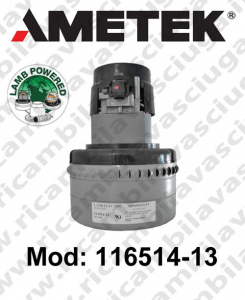 Motores de aspiración 116514-13 LAMB AMETEK para fregadora