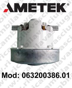 Motore de aspiración 063200386.01 AMETEK para aspiradora