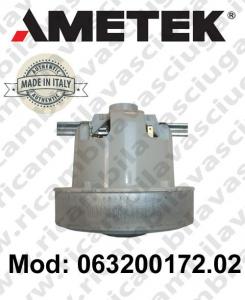 Motore de aspiración 063200172.02 AMETEK ITALIA para aspiradora