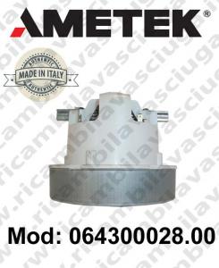 Motores de aspiración 064300028.00 AMETEK ITALIA para sistemas de extracción centralizados