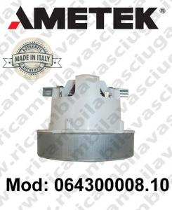 Motores de aspiración 064300008.10 AMETEK ITALIA para sistemas de extracción centralizados