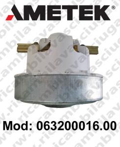 Motore de aspiración 063200016.00 AMETEK para aspiradora