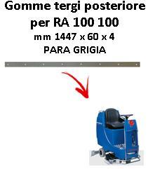 RA 100 100 goma de secado trasero Columbus