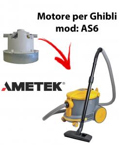 AS6  Motores de aspiración AMETEK para aspiradoras GHIBLI