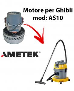 AS10  Motore de aspiración AMETEK para aspiradora y aspiradora húmeda GHIBLI