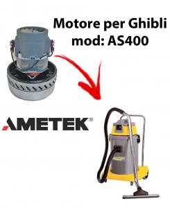 AS400  Motore de aspiración AMETEK para aspiradora GHIBLI