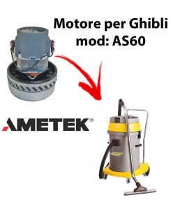 AS60  Motore de aspiración AMETEK para aspiradora y aspiradora húmeda GHIBLI