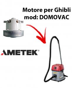 DOMOVAC  Motores de aspiración AMETEK para aspiradoras GHIBLI