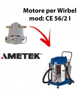 CE 56/2 I  Motore de aspiración AMETEK para aspiradora WIRBEL