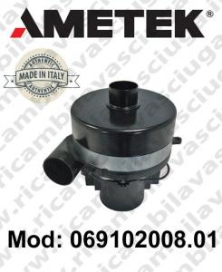 Motore de aspiración 069102008.01 AMETEK ITALIA para fregadora