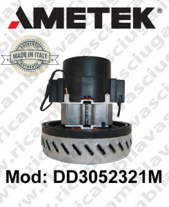 Motore de aspiración Ametek Italia DD3052321M para fregadora y aspiradora