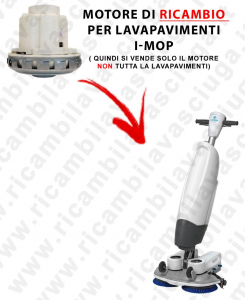MOTORE DI repuestos para MACCHINA I-MOP (in questa asta si vende solo il MOTORE)