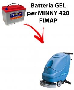 BATTERIA PIOMBO para MINNY 420 fregadoras FIMAP