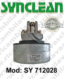 Motore de aspiración SY 712028 SYNCLEAN para aspiradora